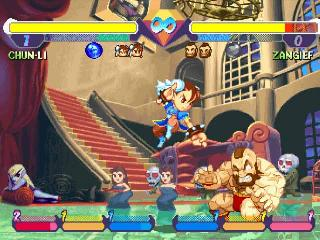 Screenshot Thumbnail / Media File 1 for Pocket Fighter [NTSC-U]